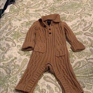 Gap sweater one piece 3-6 months